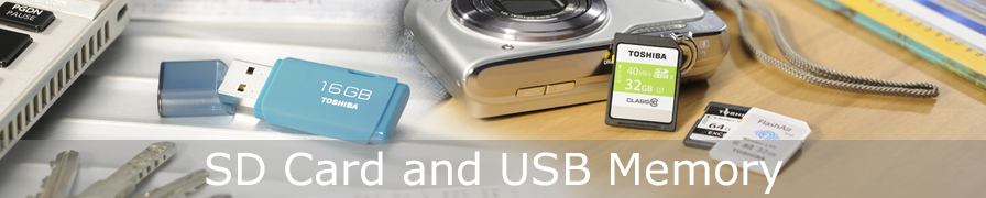 SD Cards and USB Memory